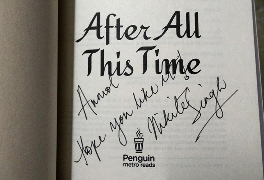 After All This Time Signed Copy