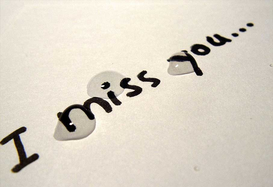 I Miss You - A Short Poem