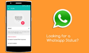 Express with WhatsStatus – A Collection of Best Status for Whatsapp