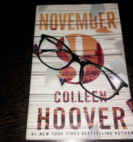 November 9 – Book Review